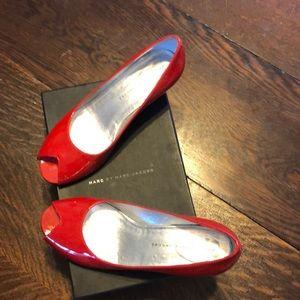 Marc by Marc Jacobs Peep Toe Heels